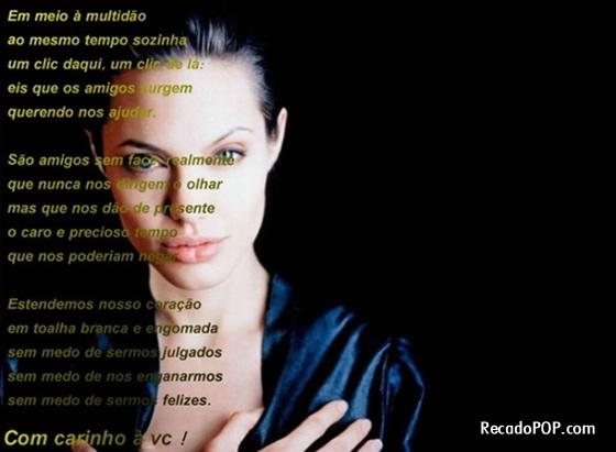 Amigos Virtuais Mensagens Imagens E Recados Para O Orkut