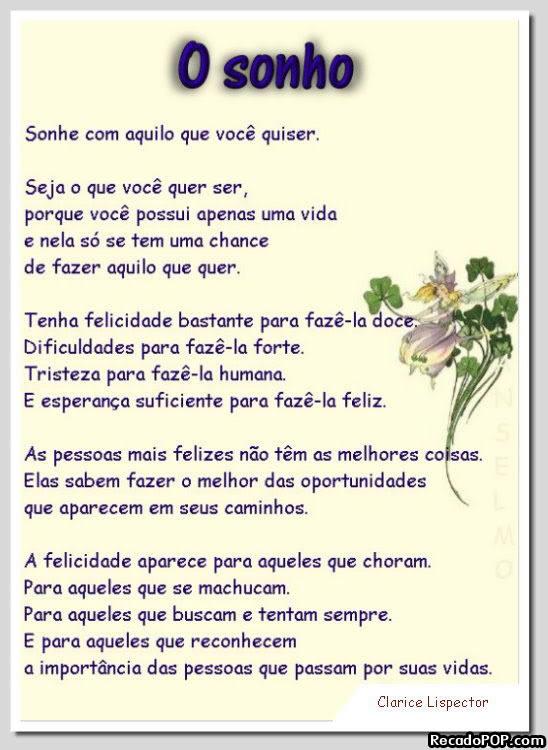 Poemas Mensagens e Imagens para Facebook