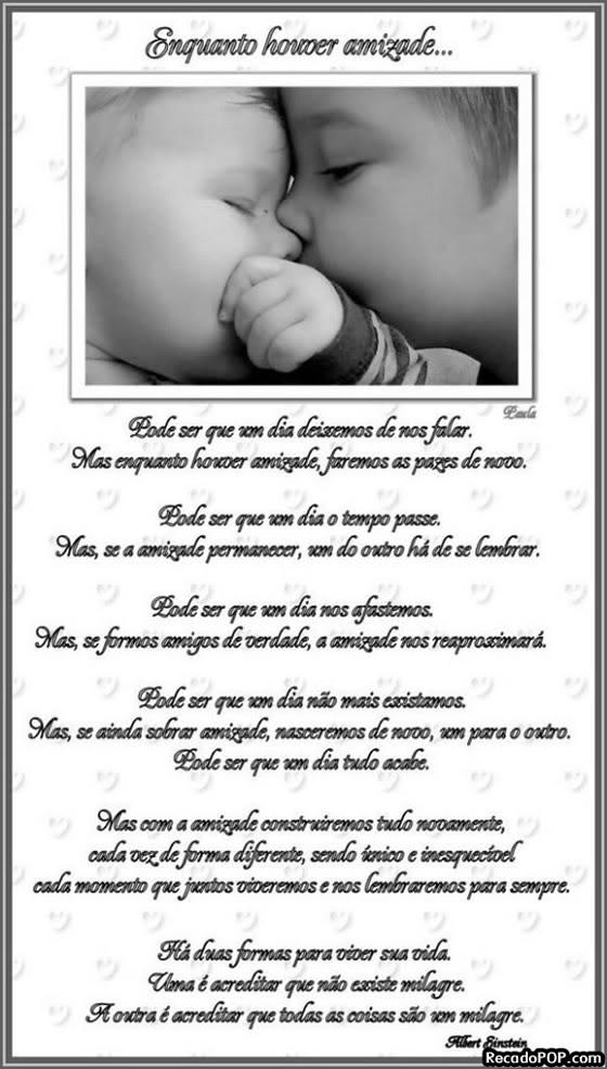 Mensagens De Poemas De Amizade Para Facebook