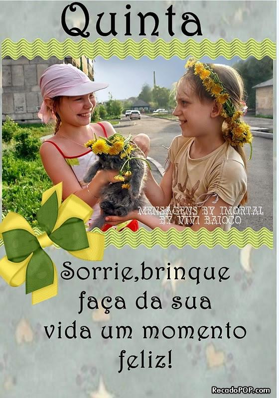 Mensagens De Quinta Feira Para Facebook