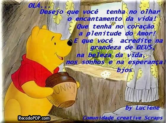 Mensagens De Ursinho Pooh Para Facebook